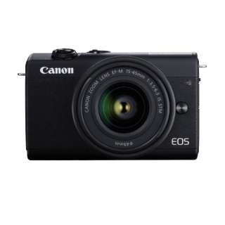 EOS M200 ミラーレス一眼カメラ EF-M15-45 IS STM レンズキット ブラック [ズームレンズ]