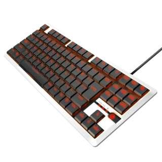 TK-ARMA30WH ゲーミングキーボード ARMA FPS ホワイト [USB /有線]