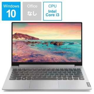 ノートパソコン ideapadS340 プラチナグレー 81UM0028JP [13.3型 /intel Core i3 /SSD:256GB /メモリ:8GB /2019年10月モデル]