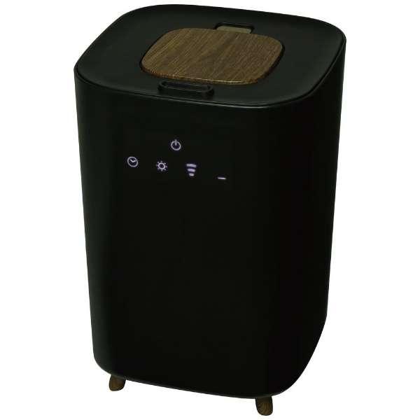 LsHumidifierBK 加湿器 LsHumidifier(エルズヒュミディファイアー) ブラック [ハイブリッド(加熱+超音波)式 /4L]