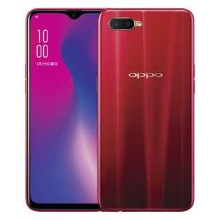 OPPO R17 Neo レッド「CPH1893RD」Snapdragon 660 6.4型・メモリ/ストレージ: 4GB/128GB nanoSIMx2 DSDV対応 au/Y!mobile SIM対応 SIMフリースマートフォン
