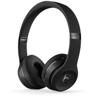 ブルートゥースヘッドホン Beats Solo3 Wireless - The Beats Icon Collection - マットブラック MX432PA/A [リモコン・マイク対応 /Bluetooth]