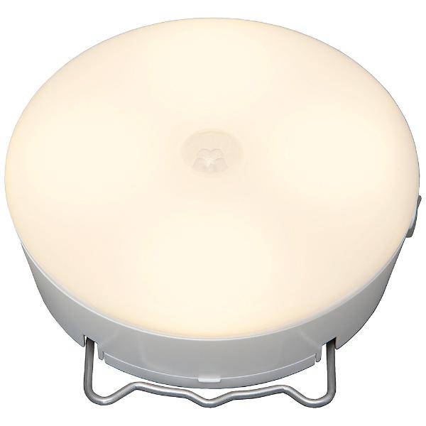 乾電池式LEDセンサーライト マルチタイプ 電球色 BSL40ML-WV2 ホワイト