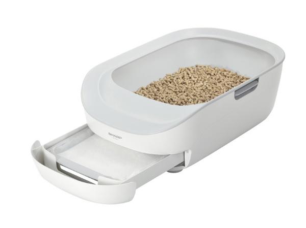 猫用トイレ型ペットケアモニター