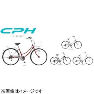 26型 自転車 シーピーエイチ 261-B(ブルー/シングルシフト) MK-20-036【2020年モデル】 【組立商品につき返品不可】