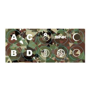 NEOGEO Arcade Stick Proボタンステッカー(Standard) FP4X1N1903