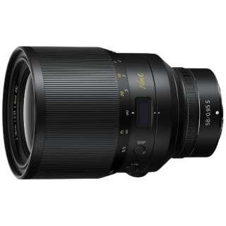 【受注生産】カメラレンズ NIKKOR Z 58mm f/0.95 S Noct【ニコンZマウント】 [ニコンZ /単焦点レンズ]