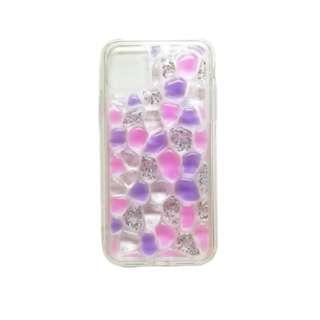 iPhone11 /XR 3Dファッションケース AIC-3DFA61XI05 パープル