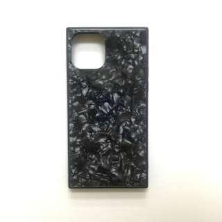 iPhone11 /XR SQガラスハイブリッドケース(シェル柄) AIC-SHE05-NEW61 グレー