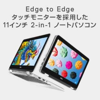 MI341C-9WHBW ノートパソコン Inspiron 11 3195 2-in-1 ホワイト [11.6型 /AMD Aシリーズ /eMMC:64GB /メモリ:4GB /2019年秋冬モデル]