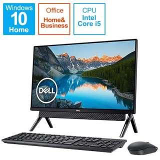 FI557-9WHBBC デスクトップパソコン Inspiron 24 5490 ブラック [23.8型 /HDD:1TB /SSD:256GB /メモリ:8GB /2019年秋冬モデル]