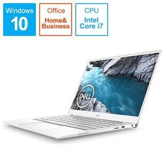 MX73-9WHBFW ノートパソコン XPS 13 7390 フロスト&アークティックホワイト [13.3型 /intel Core i7 /SSD:256GB /メモリ:8GB /2019年秋冬モデル]
