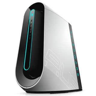 DA90VR-9WLW ゲーミングデスクトップパソコン ALIENWARE AURORA R9 ルナライト(シルバーホワイト) [モニター無し /HDD:2TB /SSD:512GB /メモリ:16GB /2019年秋冬モデル]