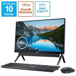 FI779-9WHBBC デスクトップパソコン Inspiron 27 7790 ブラック [27型 /HDD:1TB /SSD:256GB /メモリ:16GB /2019年秋冬モデル]