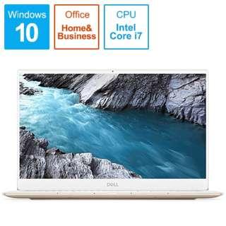 MX73-9WHBRW ノートパソコン XPS 13 7390 ローズゴールド&アークティックホワイト [13.3型 /intel Core i7 /SSD:256GB /メモリ:8GB /2019年秋冬モデル]