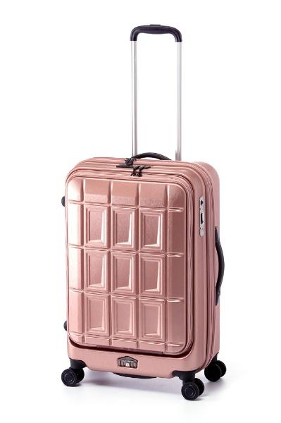 パンテオン スーツケース ハードキャリー 55L 62L PANTHEON パンテオン ピンクゴールド PTS-6007 TSAロック搭載
