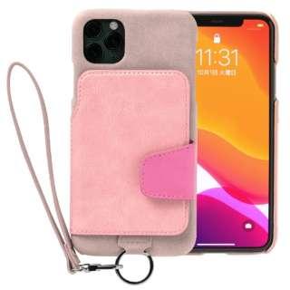 RAKUNI Soft Leather Case for iPhone 11 Pro Max rak-19ipl-ppnk スモーキーピンク