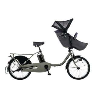 20型 電動アシスト自転車 ギュット・クルーム・DX(マットオリーブ/3段変速) BE-ELFD032G【2020年モデル】 【組立商品につき返品不可】