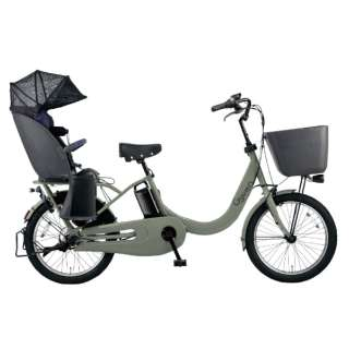 電動アシスト自転車 ギュットクルームR・DX マットオリーブ BE-ELRD03G [20インチ /3段変速] 【組立商品につき返品不可】
