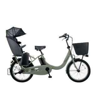 20型 電動アシスト自転車 ギュットクルームR・EX(マットオリーブ/3段変速) BE-ELRE03G【2020年モデル】 【組立商品につき返品不可】