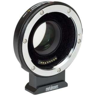 METABONES MB_SPEF-m43-BT9 マウント(ボディ側:BMPCC4K/レンズ側:Canon EF)・Speed Booster XL 0.64x・フルフレームレンズ専用・電子接点付き・T(フロック加工)