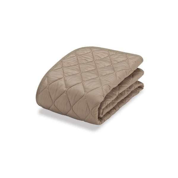 【ベッドパッド】フランスベッド 羊毛メッシュパッド (キングサイズ/ベージュ)