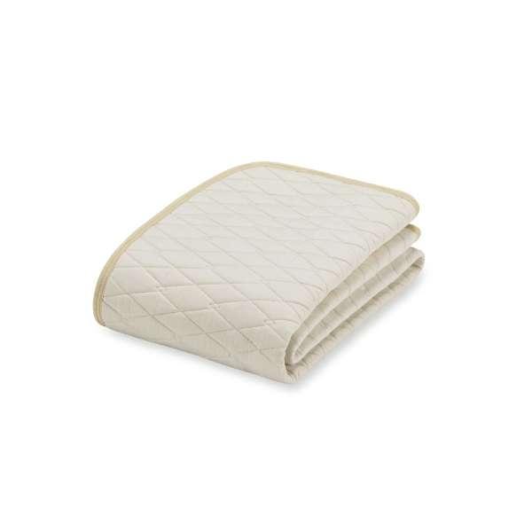 【ベッドパッド】コットンメッシュパッド(シングルサイズ/キナリ) フランスベッド