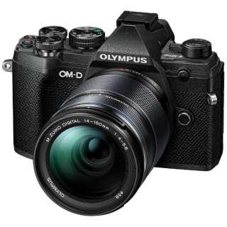 OM-D E-M5 Mark III ミラーレス一眼カメラ 14-150mm II レンズキット ブラック [ズームレンズ]