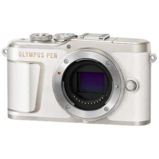 PEN E-PL10 ミラーレス一眼カメラ ホワイト [ボディ単体]