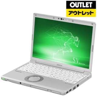 【アウトレット品】 12.1型ノートパソコン [Office・Win10 Pro・Core i5・SSD 256GB・メモリ 8GB] Let's note(レッツノート)SV8シリーズ   CF-SV8KDGQR シルバー 【外装不良品】