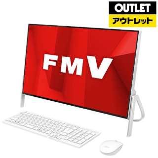 【アウトレット品】 23.8型モニター一体型デスクトップPC [Office付・Celeron・HDD 1TB・メモリ 4GB] ESPRIMO FH52/D1  FMVF52D1W ホワイト 【外装不良品】