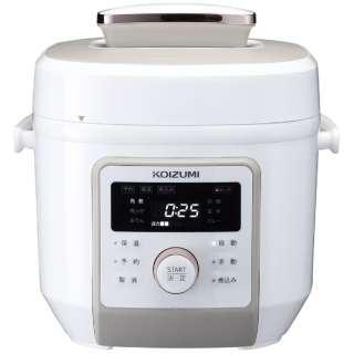 電気圧力鍋 ホワイト KSC4501W