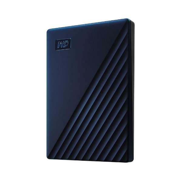 WDBA2D0020BBL-JESN 外付けHDD ブルー [ポータブル型 /2TB]