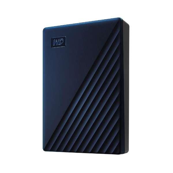 WDBA2F0040BBL-JESN 外付けHDD ブルー [4TB /ポータブル型]