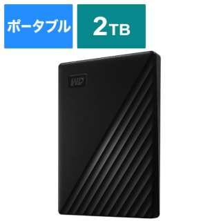 WDBYVG0020BBK-JESN 外付けHDD ブラック [ポータブル型 /2TB]