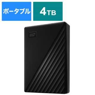 WDBPKJ0040BBK-JESN 外付けHDD ブラック [ポータブル型 /4TB]