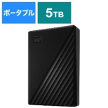 WDBPKJ0050BBK-JESN 外付けHDD ブラック [ポータブル型 /5TB]