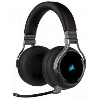 CA-9011185-AP ゲーミングヘッドセット VIRTUOSO RGB WIRELESS Carbon ブラック [ワイヤレス(USB)+有線 /両耳 /ヘッドバンドタイプ]