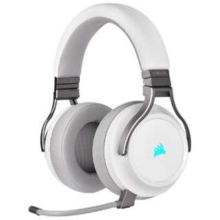 CA-9011186-AP ゲーミングヘッドセット VIRTUOSO RGB WIRELESS White ホワイト [ワイヤレス(USB)+有線 /両耳 /ヘッドバンドタイプ]