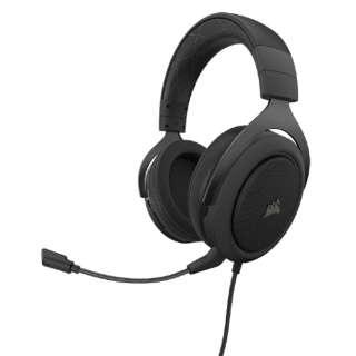 CA-9011213-AP ゲーミングヘッドセット HS60 PRO SURROUND Carbon ブラック [φ3.5mmミニプラグ /両耳 /ヘッドバンドタイプ]