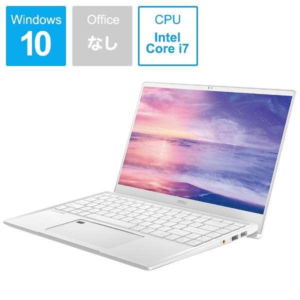 Prestige-14-A10SC-165JP ノートパソコン Prestigeシリーズ [14.0型 /intel Core i7 /SSD:512GB /メモリ:16GB /2019年11月モデル]