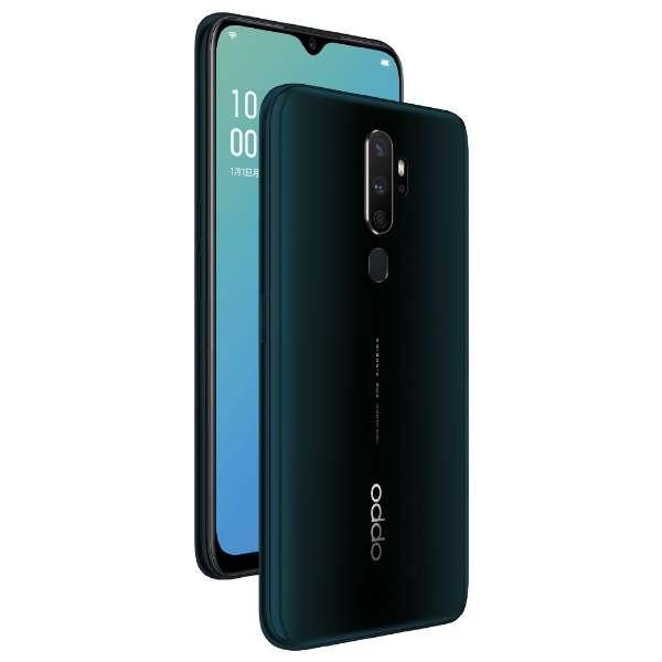 OPPO A5 2020 グリーン「CPH1943GN」Snapdragon 665 6.5型・メモリ/ストレージ:4GB/64GB nanoSIM x2 DSDV対応 docomo/au/Rakuten/YmobileSIM対応 SIMフリースマートフォン