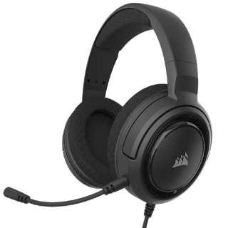 CA-9011220-AP ゲーミングヘッドセット HS45 SURROUND Carbon ブラック [φ3.5mmミニプラグ /両耳 /ヘッドバンドタイプ]