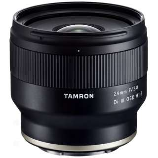 カメラレンズ 24mm F/2.8 Di III OSD M1:2(Model F051) [ソニーE /単焦点レンズ]