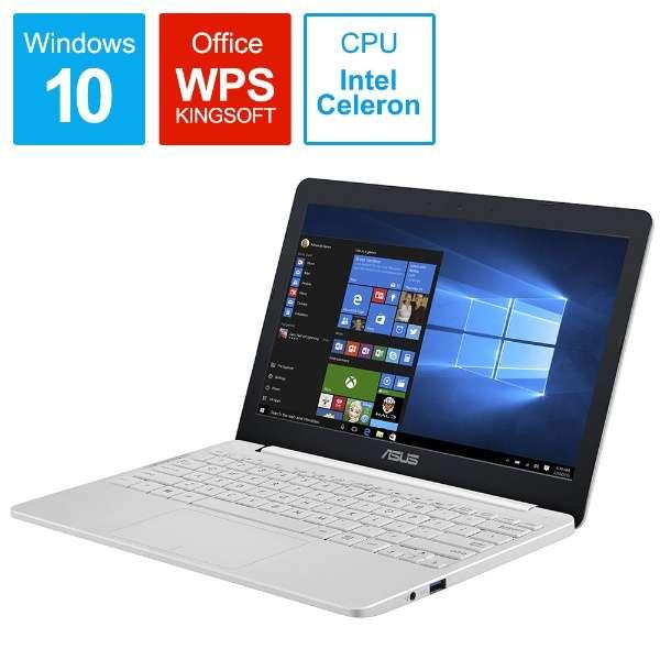E203MA-4000W2 ノートパソコン パールホワイト [11.6型 /intel Celeron /eMMC:64GB /メモリ:4GB /2019年10月モデル]