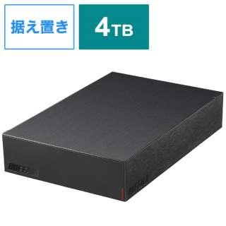 HD-LE4U3-BA 外付けHDD ブラック [据え置き型 /4TB]