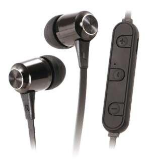 bluetoothイヤホン カナル型 ライソン EP-04 KABE-004B [リモコン・マイク対応 /ワイヤレス(左右コード) /Bluetooth]