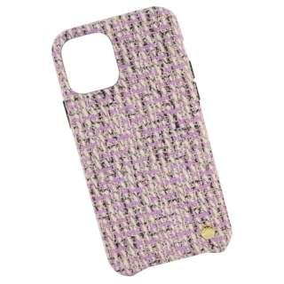 VELES elle iPhone11/XR対応シェルケース(ツイード) ピンク VLS-53PK