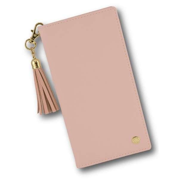 VELES elle iPhone11Pro対応フリップカバー(タッセル) ピンク VLS-46PK