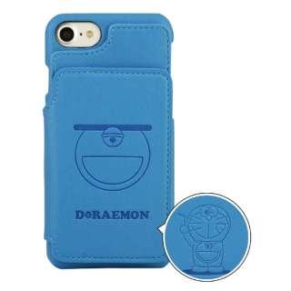 ドラえもん iPhone8/7対応カードフラップケース 四次元ポケット DR-54A